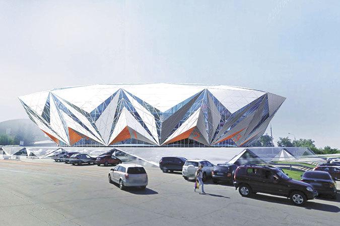а дворец спорта ЦСК ВВС