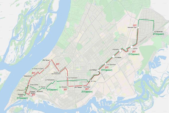 В Самаре 217-ый маршрут