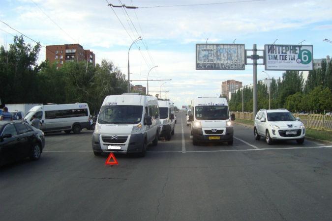В Тольятти одна маршрутка «
